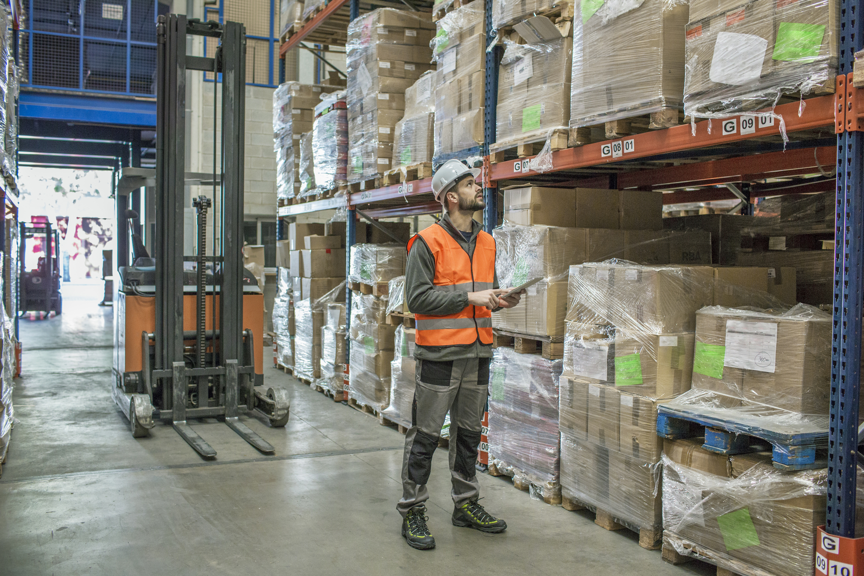 warehouse worker image